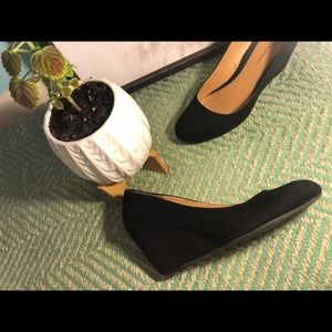 CL by Laundry Shoes - Black wedge shoes